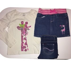 Girl's Outfit shirt Size 6